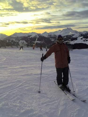 Image of your scribe at the top of a run in Avoriaz, France