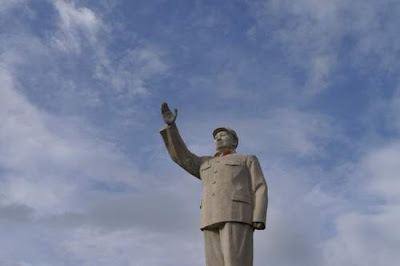 Image of Mao Ze Dong from Lijiang, Yunnan Province, China.