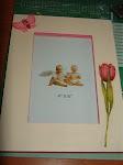 Moldura tulipa