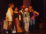 """Mi primera incursión en el teatro. """"GENOBUNDIO Y ABUVEVA"""". Estrenada el 6 de Marzo de 2010."""