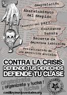 CONTRA LA CRISIS, DEFIENDE TU CLASE