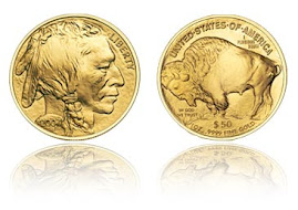 Gold American Buffalos