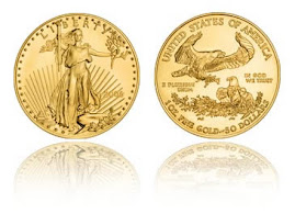 Gold America's Eagles