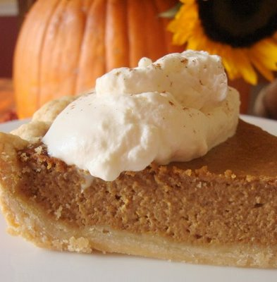 Pumpkin Butterscotch Pie