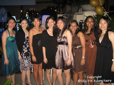 Karen, MY, Pat, me, Mun Yi, Jas, Soma & SH