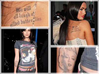 this too shall pass tattoo. Among Megan Fox#39;s many tattoos