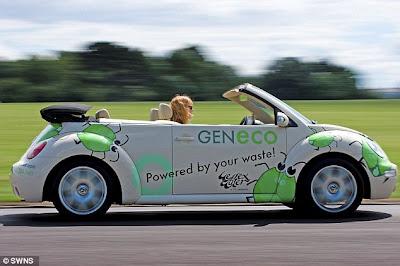 automóvil ecológico