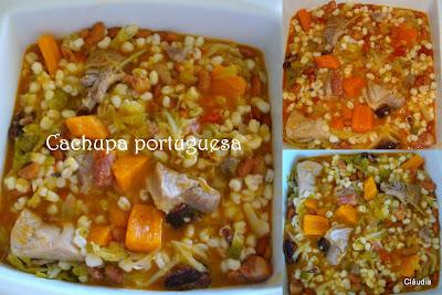 Cláudia na Cozinha?!: Cachupa (à portuguesa...)