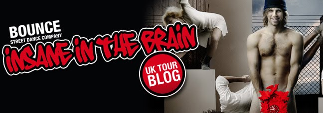 Insane in the Brain UK tour blog