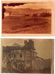 Antiga Fábrica de Tecidos e a Igreja de São pedro