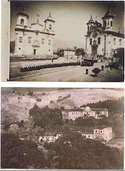 Igrejas do Carmo e do São Francisco e abaixo o Seminário Menor