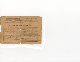 Biletul de liberare din AIUD