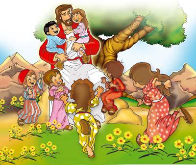 JESUS AMA AS CRIANÇAS!