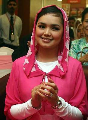Dapat jemputan makan malam bersama Dato Siti Nurhaliza