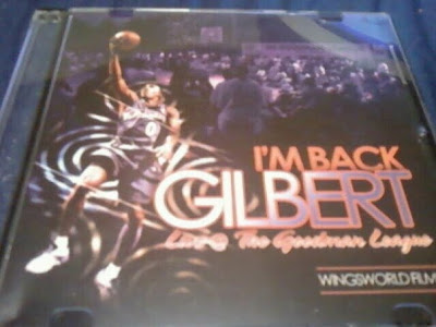 Gilbert Arenas on Back  Gilbert Arenas Dvd Live   The Goodman League At The Bf