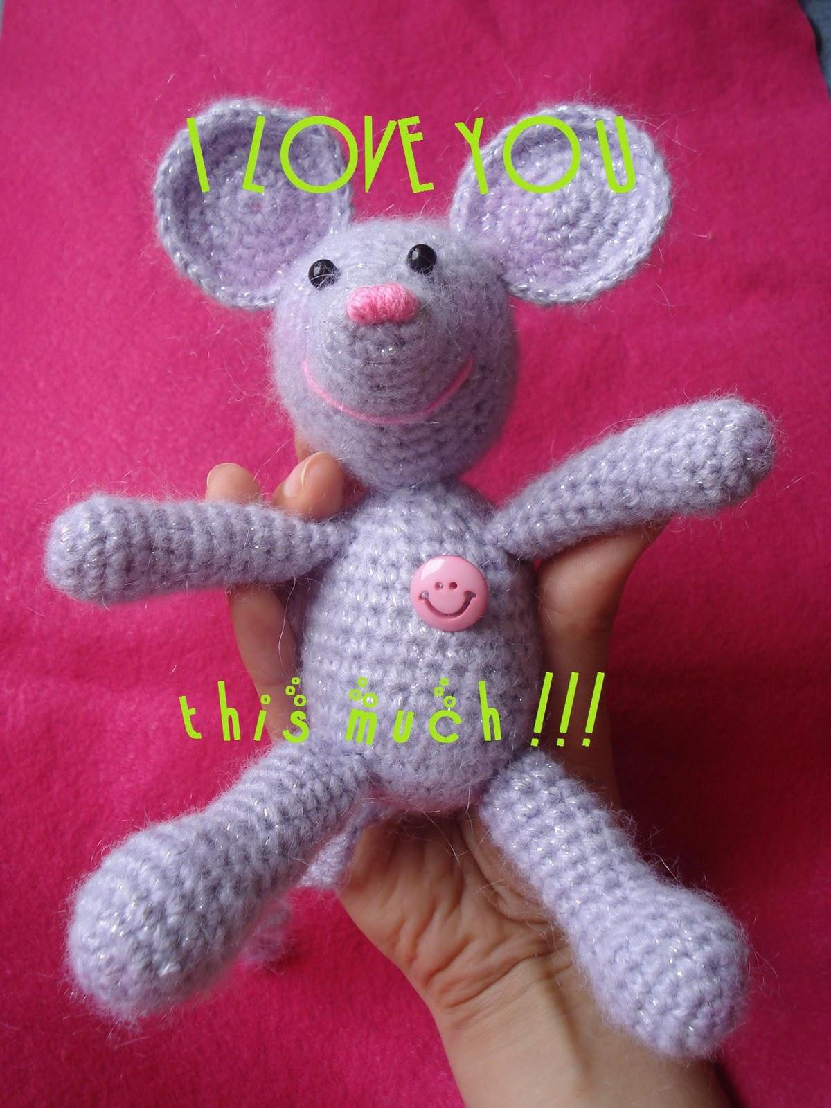 AllSoCute Amigurumis: Amigurumi Mouse / Amigurumi Fare