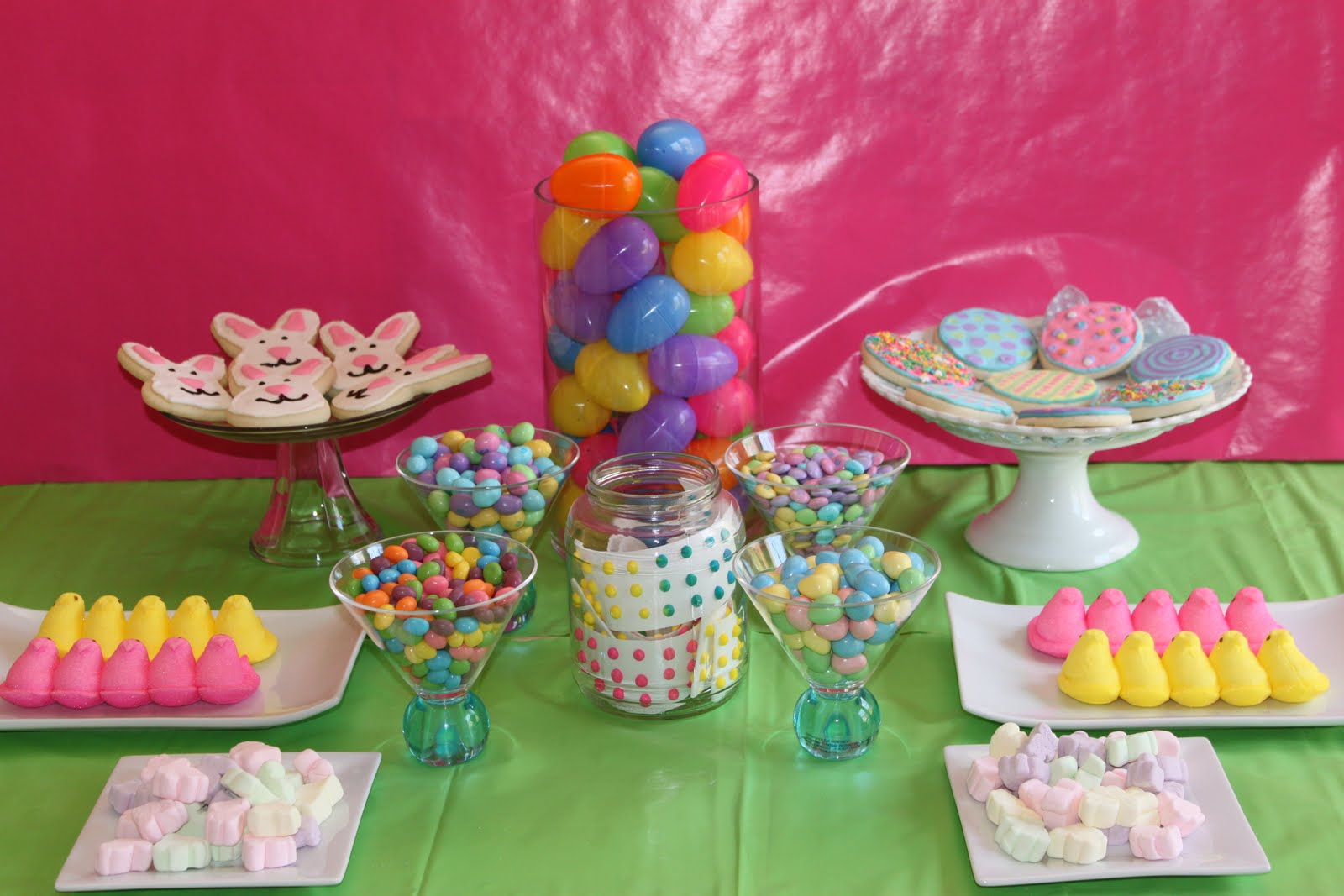 Crave Indulge Satisfy Easter Dessert Table