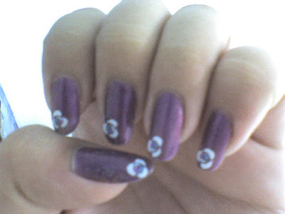 flower nail designs. Floral nail art