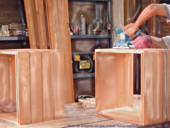 Decoraciones de interiores vj interiores decoracion for Carpinteria en madera