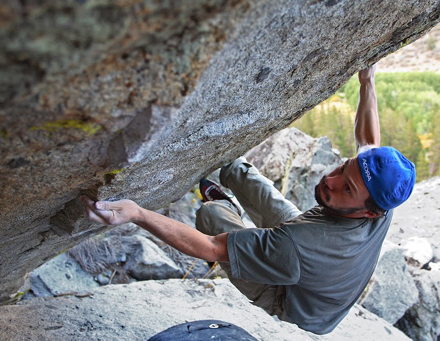 Bishop Bouldering Blog: Lessons at Rock Creek (v13?) by Charlie Barrett