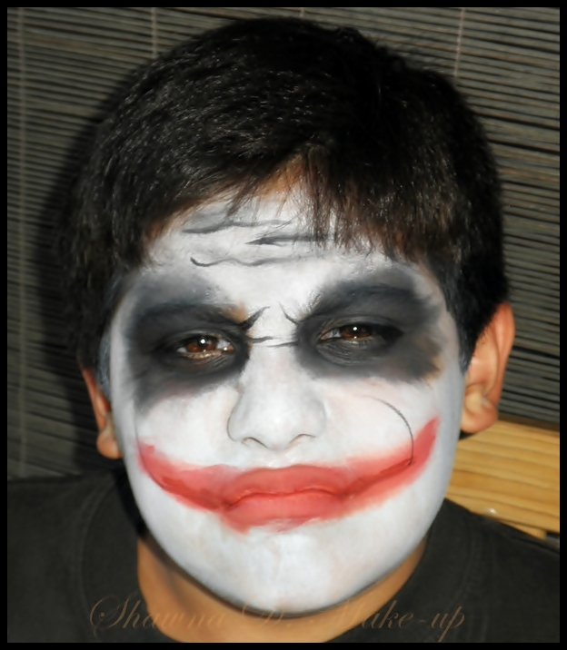 Shawna D. Make-up: Scary Halloween face painting ideas for boys