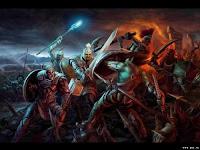 Рыцари и троли на поле сражения