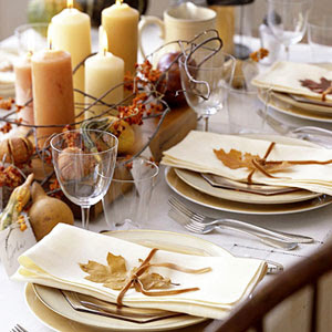 Thanksgiving Decor Ideas | Kitchen Layout and Decor Ideas