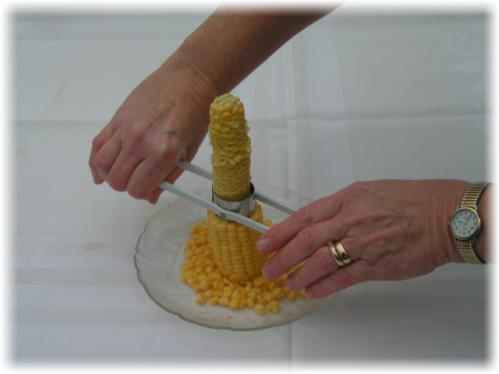 Устройства для очистки початка кукурузы