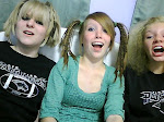 Jenna, Me, Natalie. (With Crazy hair)
