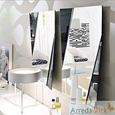 Arredaclick il blog sull 39 arredamento italiano online for Specchi arredo moderni