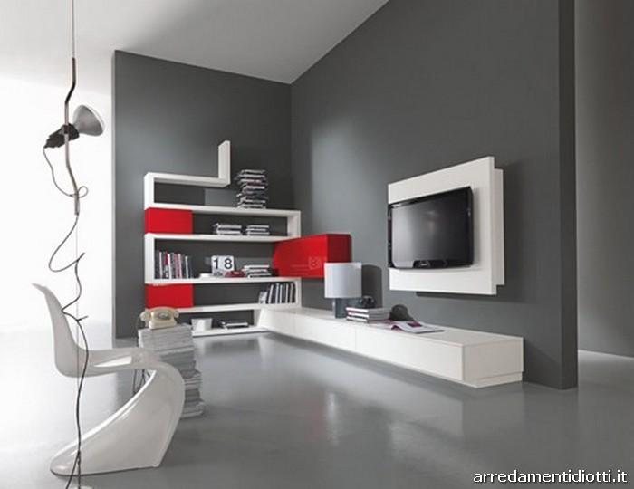... mobili ed arredamento dinterni: Il soggiorno moderno entra in cucina