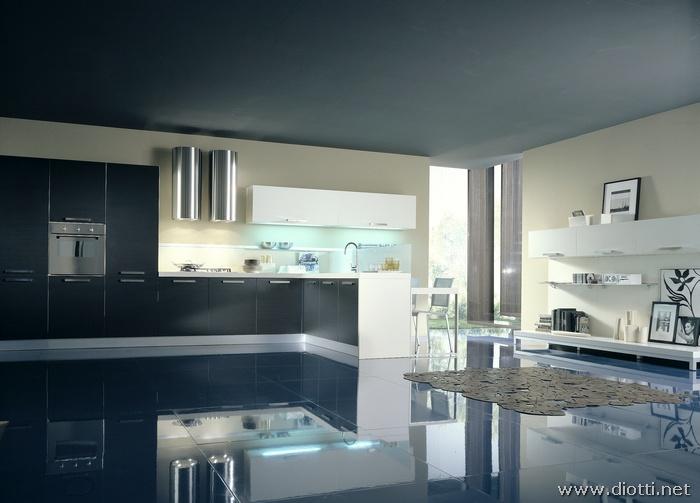 foto cucina e soggiorno insieme arredamenti diotti au f il su mobili ed arredamento d