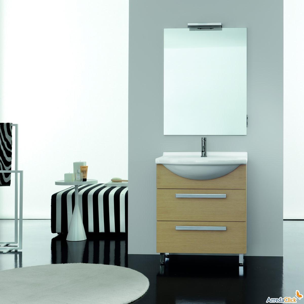 Elegant ricavare un secondo bagno in poco spazio con for Arredo bagno piccole dimensioni