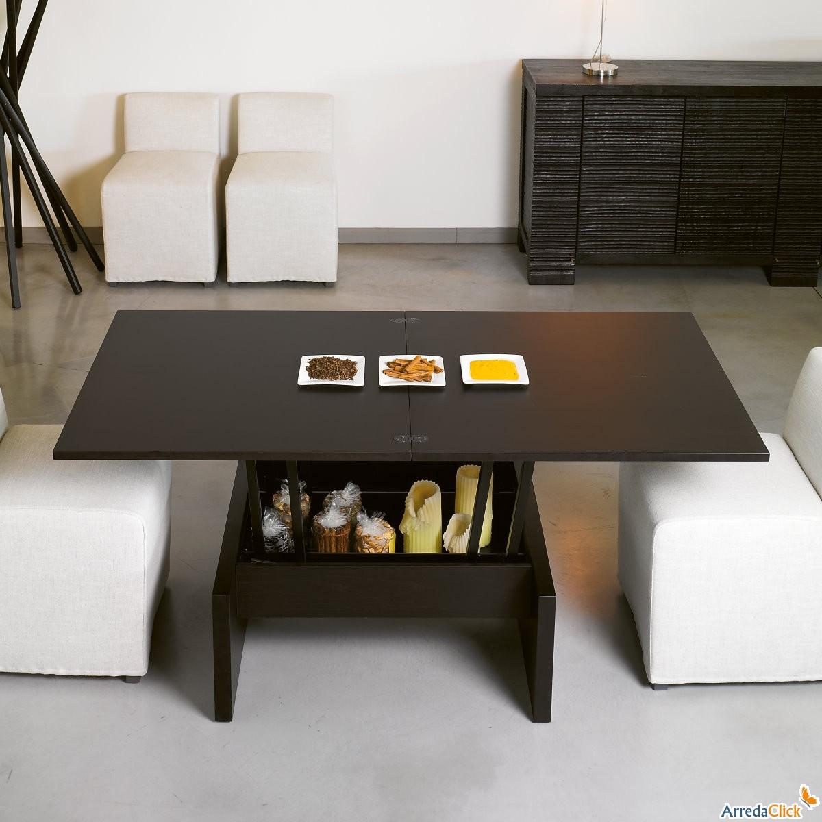 Arredaclick il blog sull 39 arredamento italiano online tavolini da salotto trasformabili per - Tavolino basso ikea ...