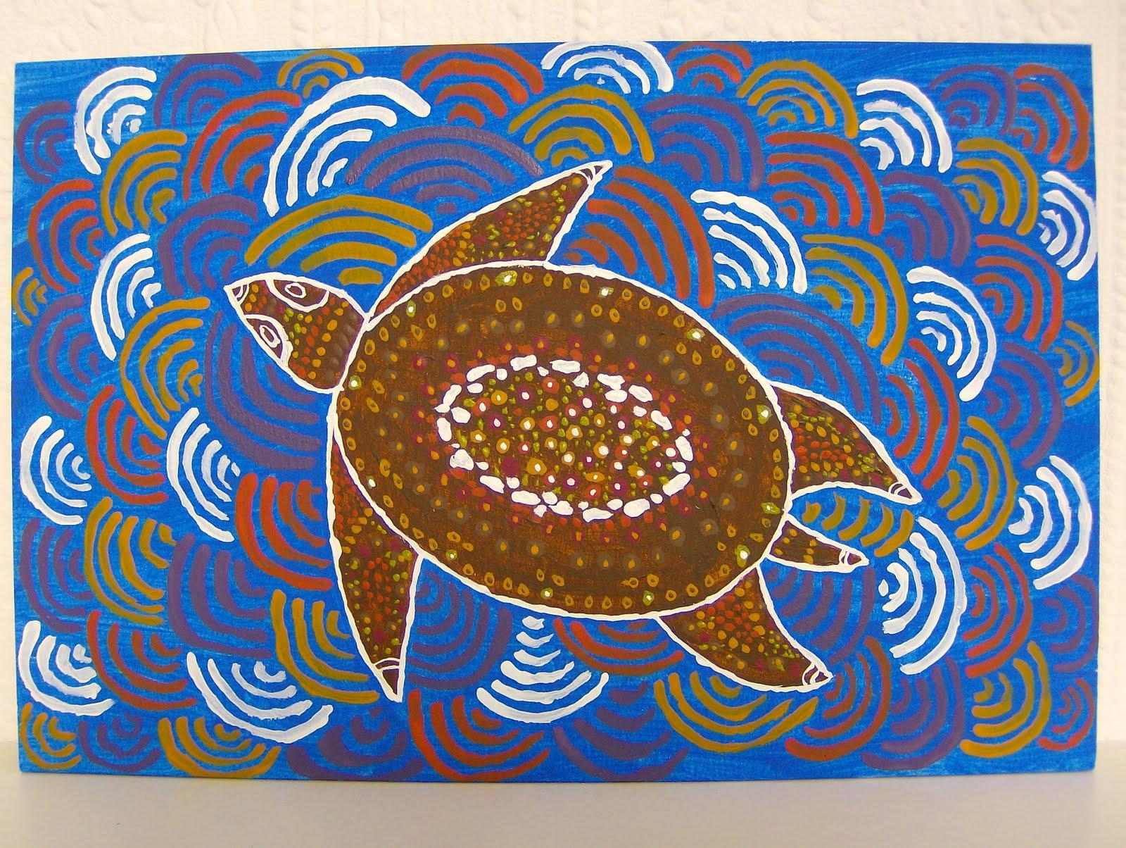 Aboriginal Turtle