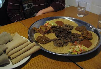 etiopialaista ruokaa