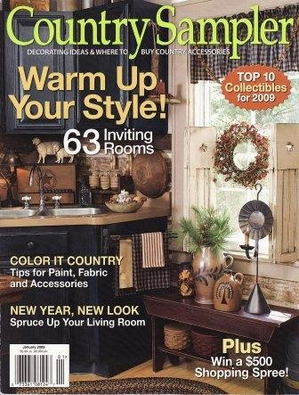 My Homespun Happenings The Country Sampler Magazine Ad Is