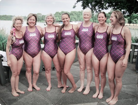 Girls swim team women