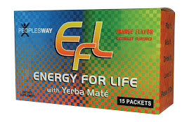 EFL - Energy for Life - For A FREE Sample call your distributor now.