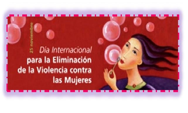 dia internacional de no violencia a la mujer: