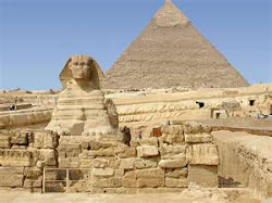 Sphinx and Pyramids of Egypt