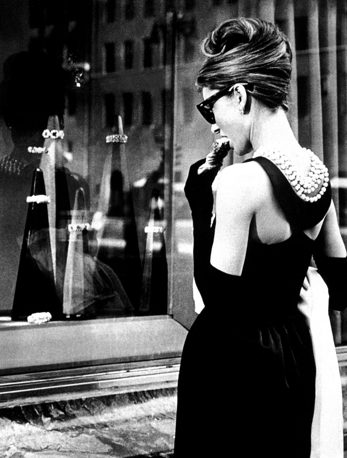Audrey Hepburn is still sexy in pearls, because of her attitude.
