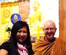Ajahn Brahm and Lynn Yap