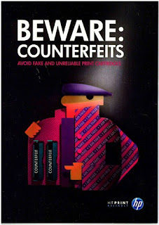 How to spot HP counterfeited / fake products?