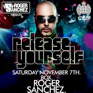 Release Yourself at Ministry of Sound  November 7th