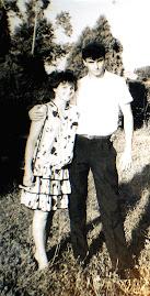 acum 23 de  ani-aug.1990- eu si sotul meu George