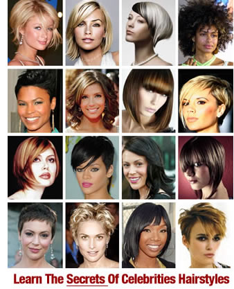 Celebrity Hairstyles. Visit your hairdresser