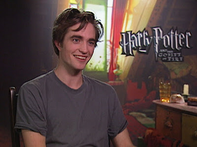 Robert Pattinson for Harry Potter And The Goblet of Fire