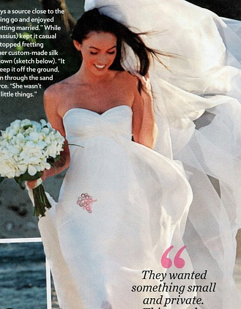 uniQuePic: Megan Fox's Wedding Pictures