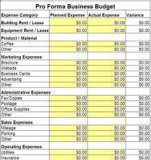 Small business financial plan
